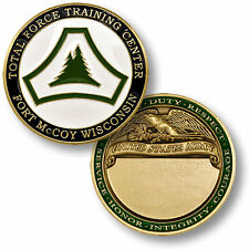 U.S. Army / Fort McCoy Total Force Training Center - Challenge Coin
