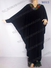 Butterfly  Abaya/ Jilbab/ Kaftan - Free Size - Lengths 50,51,52,53,54,55.56""