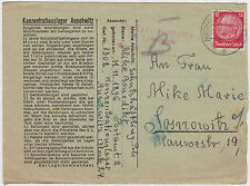 1941 Germany Auschwitz Concentration Camp Cover Benedict Mike Sosnowitz Ghetto 3