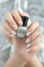 NEW! Deborah Lippmann LET IT SNOW Nail Polish Pearly snow glitter for Christmas