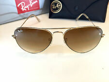 Ray Ban Aviator RB 3025 Gold Frame Brown Gradient Lens 58mm 001/51