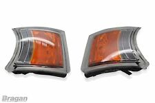 Pair Front Scania 4 / R / P / G / 6 Series LED Indicator Park Lamps Light Truck
