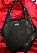 LULULEMON ATHLETICA Yoga Bag DAILY OM Gym Duffle Shoulder Black GORGEOUS & RARE