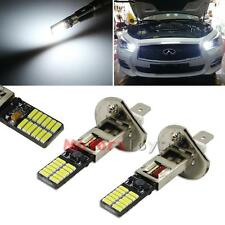 6500K HID Xenon White 24-SMD H1 LED Replacement Bulbs For Fog Lights Driving DRL