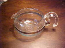 VINTAGE PYREX FLAMEWARE GLASS TEA POT 6 CUP #8846-B JUST POT NO LID