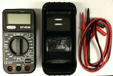 QUALITY DIGITAL LCD MULTIMETER VOLTMETER AMMETER OHM METER VOLTAGE TESTER 210977