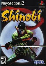 Shinobi PS2 Playstation 2 Game Complete