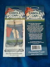 """Pet Odor Exterminator 2 """"Candles for the Car."""" Assorted scents. Made in USA!"""