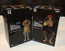Banpresto One Piece Figure Shanks and Luffy 4th Season Volume 1 Set of 2