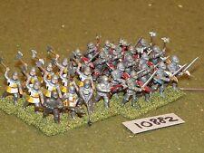 25mm medieval infantry 28 figures (10882)