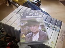 MISS MARPLE - A MURDER IS ANNOUNCED PART 1 - BBC   - VHS PAL -  VIDEO -