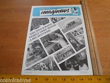 Disney Imaginews WED MAPO Employees mag 1982 Open House concept art & figures