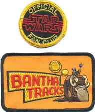 Star Wars BANTHA TRACKS/Star Wars Official FAN CLUB Patch-Set of 2 (SWPA-FC-SET)