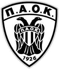 "Paok FC Greece Football Soccer Car Bumper Window Notebook Sticker Decal 4""X5"""