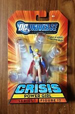 "2008 DC Universe Infinite Heroes ""Power Girl"" Action Figure Series 1 Figure 12"