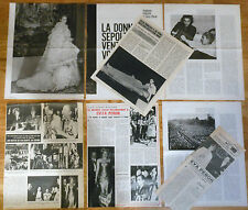 EVA EVITA PERON coleccion prensa 1960s/70s photos magazine Argentina