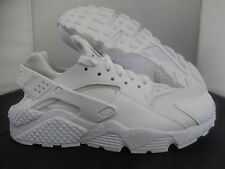 WMNS NIKE AIR HUARACHE ID WHITE-BLACK SZ 7 [777331-994]