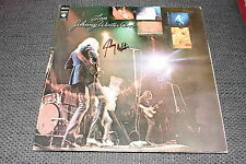 JOHNNY WINTER (+´14) signed signiert Autogramm auf LIVE Vinyl Platte LP InPerson
