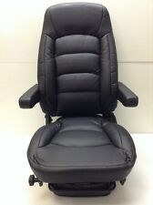 NEW Bostrom WRII+SERTA Low Profile High Back Ultra Leather Air Ride Seat, Black