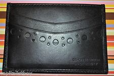 Paul Smith PS Tooled Leather Credit Card Holder NEW
