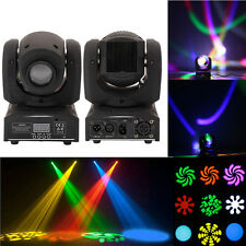 10W RGBW 4in1 LED Moving Head Light DMX512 DJ Club Disco Stage Party Lighting