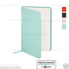 "Martha Stewart 4"" x 6"" Classic Smooth Finish Journal 202 Lined Pages (Blue)"