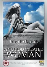 AND GOD CREATED WOMAN (DVD, FRANCE, 1956, BARDOT, FRENCH WITH ENGLISH SUBTITLES)