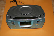 Timex Alarm Clock T439S Multi Directional Sound Chamber MP3 Aux Multi Color