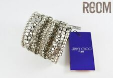 Authentic Jimmy Choo for H&M Multi Crystal Bracelet