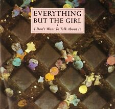 """EVERYTHING BUT THE GIRL i don't want to talk about NEG 34T uk 1986 12"""" PS EX/EX"""