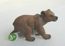 SCHLEICH WILD ANIMALS REF 14687 - GRIZZLY BEAR CUB - NEW WITH TAGS!!