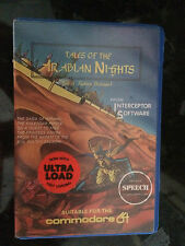 COMMODORE CBM 64 Tales of the ARABIAN NIGHTS GIOCO VINTAGE c64