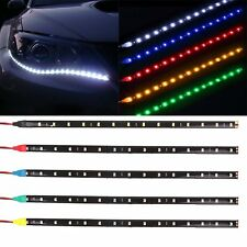1x15LED Waterproof Car Auto Flexible LED Strip Light Decorative Car DRL12V SMD