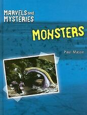 Monsters (Marvels and Mysteries)-ExLibrary