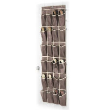24 Pockets Over the Door Shoe Mesh Organizer Space Saving Collection Storage   I