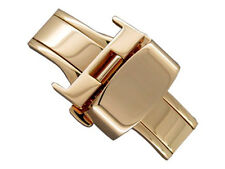 Rose Gold S. Steel Butterfly Deployment Clasp 16mm