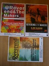 Reverend And The Makers Scottish tour concert gig posters x 3