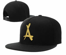 COOL ! NEW Fashion Unisex snapback caps alumni with gold A sport style Black