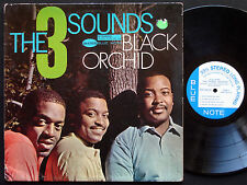 THREE 3 SOUNDS Black Orchid LP BLUE NOTE BST 84155 US 1962 NY RVG Gene Harris