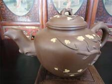 Rare Extra Large Chinese Vintage Yixing  Zisha Pottery  Signed Tea Pot (TP304)