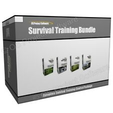 Survival Bushcraft Wilderness Medicine Guide Training Course Bundle