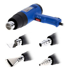 1500W Hot Air Heat Gun Dual Temperature + 4 Nozzles Power Tool 400-800° EU Plug