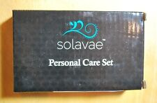Solavae Manicure Pedicure Set With Stainless Tools, Crystal Nail File