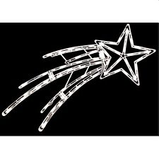 Outdoor BIG 50 Light Make Wish Christmas New Years Star Twinkles ShooTING 40""
