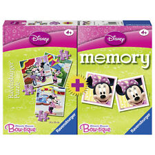 Minnie Mouse Memo Memory 48 Karten und 3 Puzzle 4in1 Set