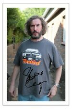 STEVE COOGAN SIGNED PHOTO PRINT AUTOGRAPH TOMMY SAXONDALE