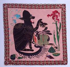 Klaus Haapaniemi Linen Cotton Cushion Cover Cat Monster Multi Surreal Pink