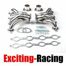 Exhaust Manifold Headers Hugger Stainless For Chevy Small Block LS1 350 Engine