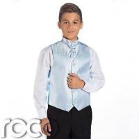 Boys Baby Blue & Black Suit, Page Boy Suits, Boys Wedding Suits, Boys Suits