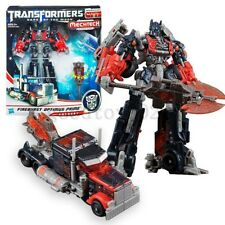New Transformers 3 Fireburst Optimus Prime Dark of the Moon Figure Car